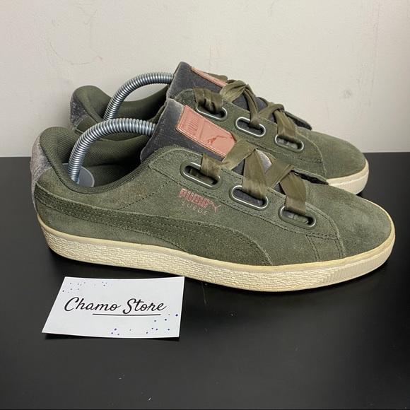 Puma Shoes | Puma Suede Heart Vr Womens